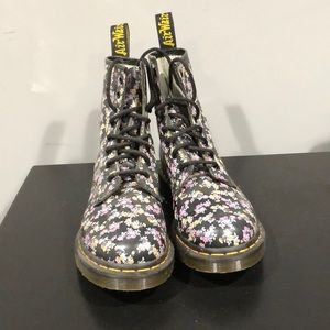 Floral Dr. Martens Page Boot